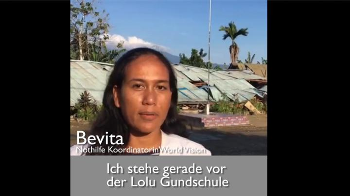 Bevita, Nothilfe Koordinatorin World Vision